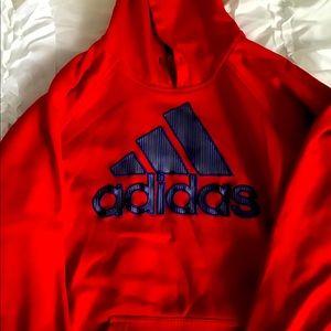 Adidas Crimson Red Hoodie